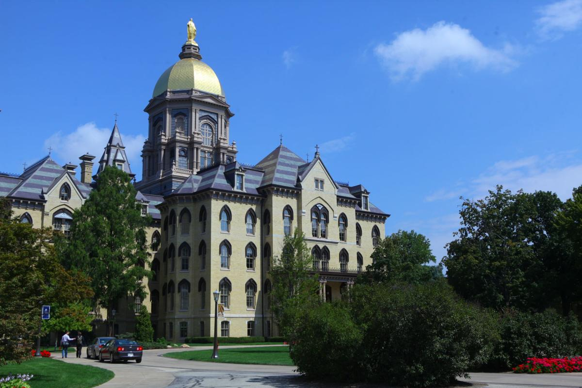 University of Notre Dame Main Administration Building