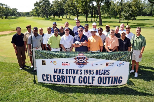 Mike Ditka's Super Bowl XX celebrity golf outing