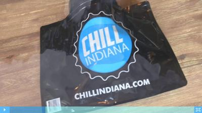 Convenience stores carrying beer-cooling bags across Indiana