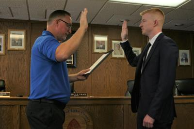 Newest Crown Point police hire puts force at its largest