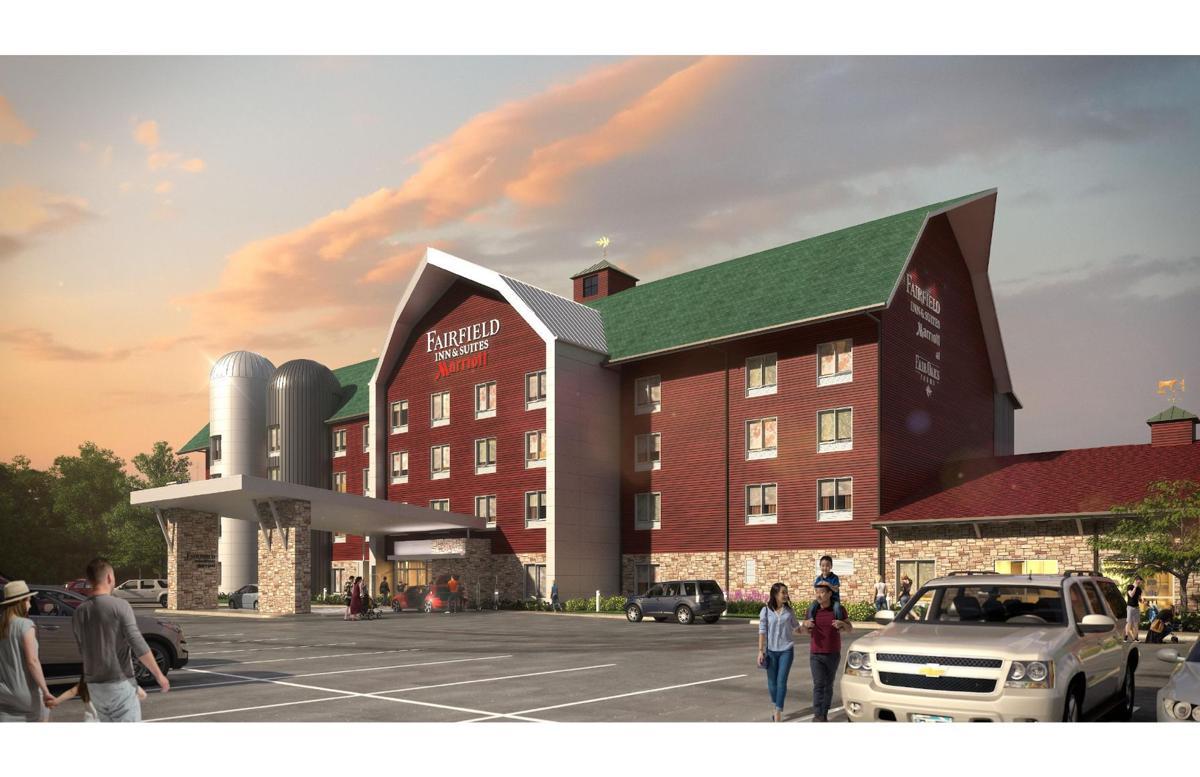 The Fairfield Inn & Suites by Marriott at Fair Oaks Farms