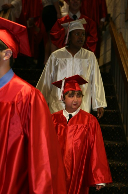 Leroy man graduates after health struggles, plans to attend Ivy Tech