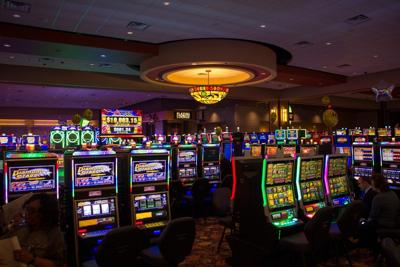 Four Winds South Bend casino floor