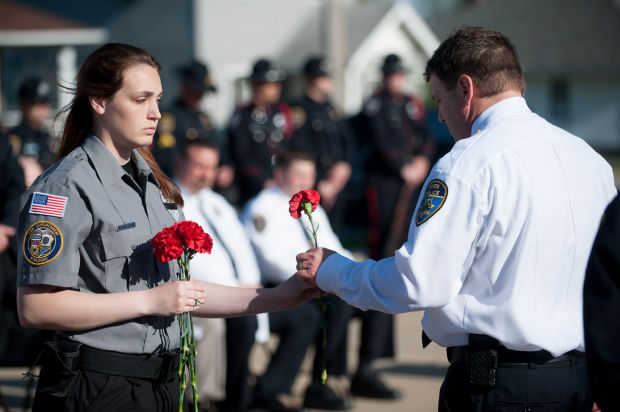 Fallen officers commemorated