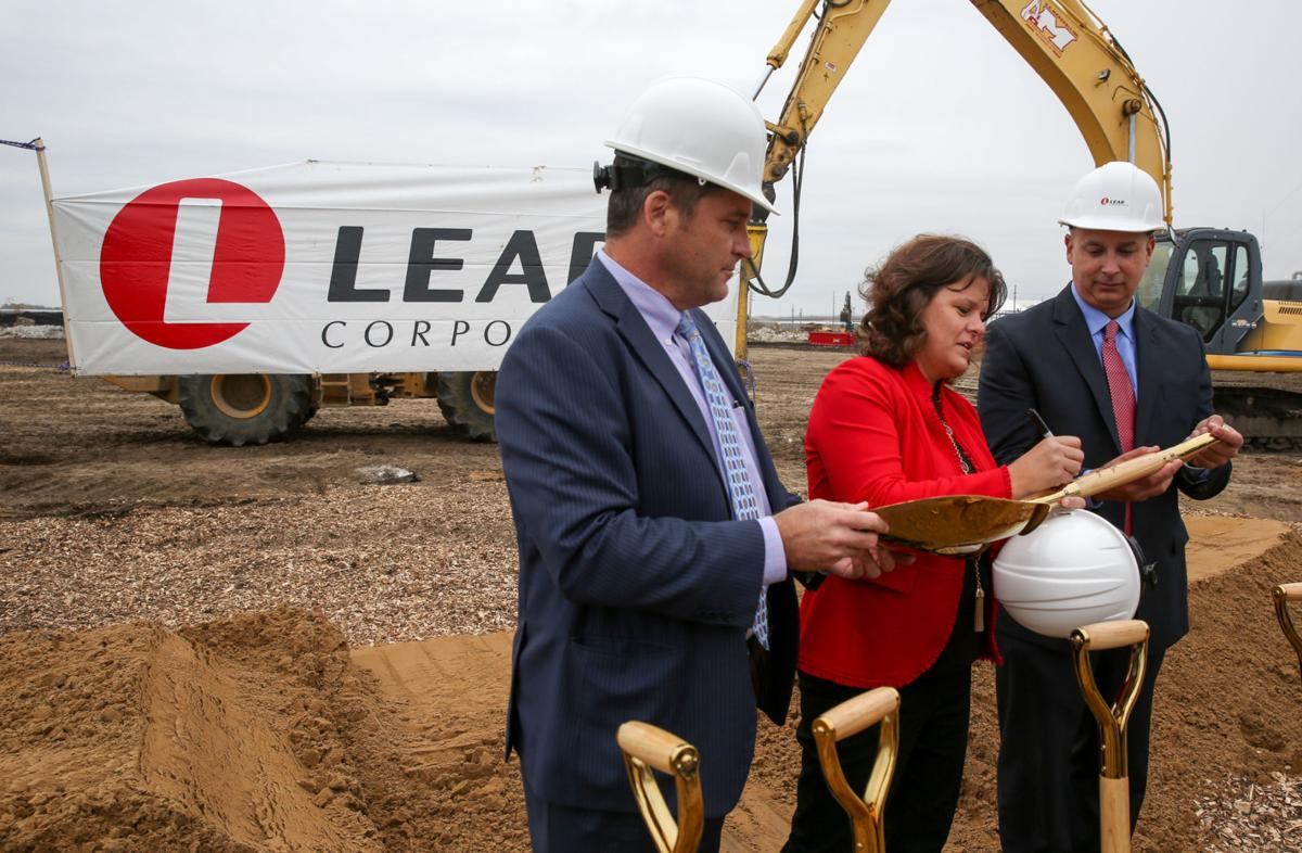 Lear Corporation breaks ground on its new Hammond facility