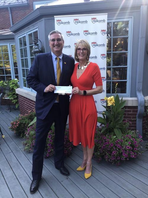 Gov. Holcomb building campaign cash advantage for expected re-election bid