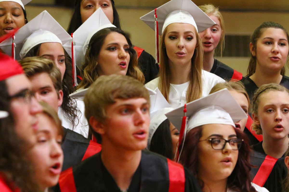 Munster High School graduation