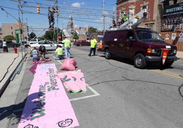 Pierogi Fest transforms downtown Whiting in a day
