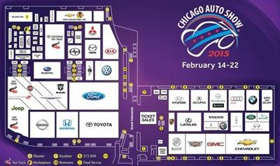 If You Go: A Guide to the 2015 to Chicago Auto Show Universe