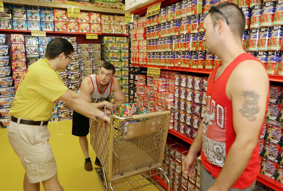 Fireworks sales exploding in Northwest Indiana