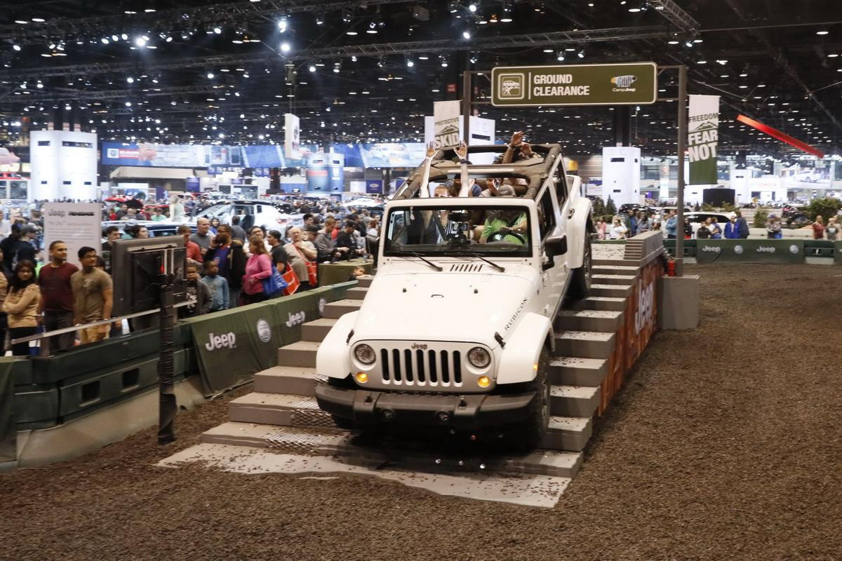 with nearly 1 000 vehicles 2018 chicago auto show to has plenty to