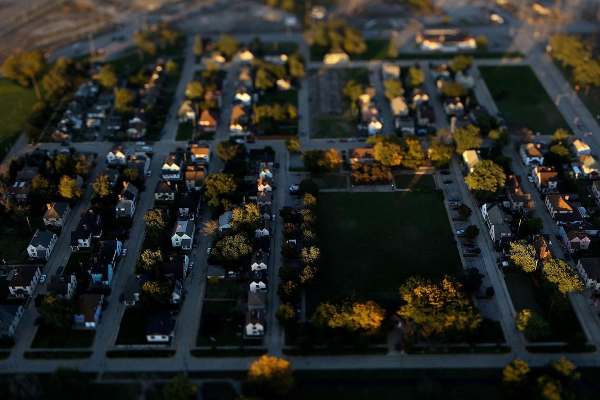 Aerial of Marktown