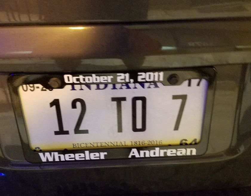 JIM PETERS: Wheeler 12, Andrean 7: History etched on a license ...