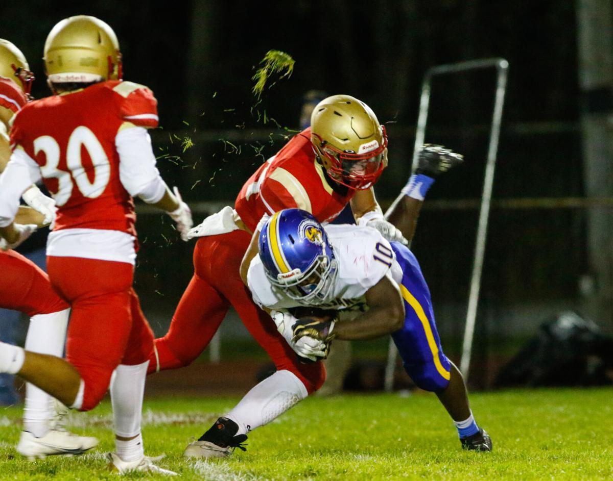 Highland at Andrean football (recruiting)