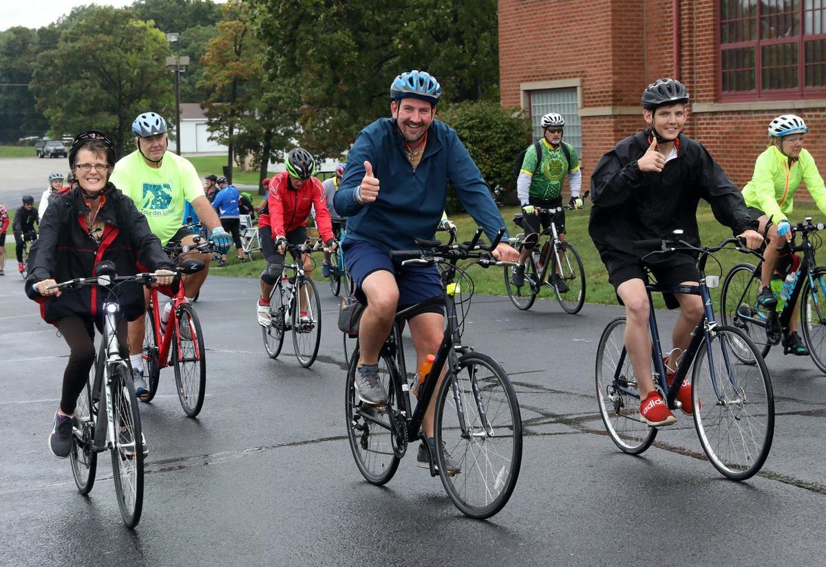Cyclists take virtual spin for Hospice Hustle
