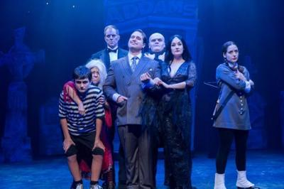 """The Addams Family -- The Musical"" Cast at Mercury Theater in Chicago"