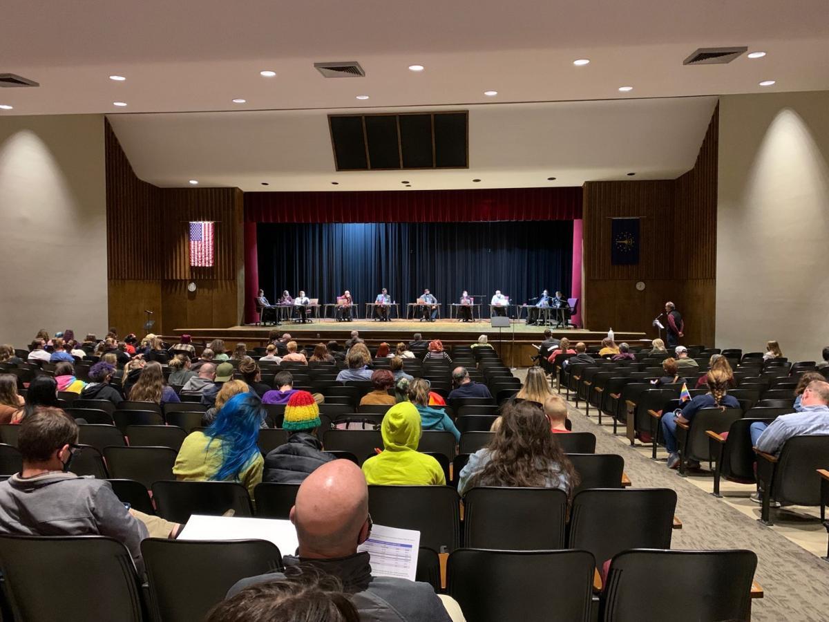 Duneland School Board meeting