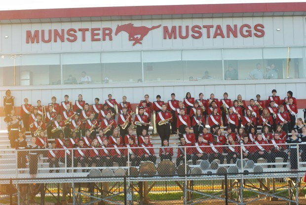Munster High School band heads to semi-state for first time