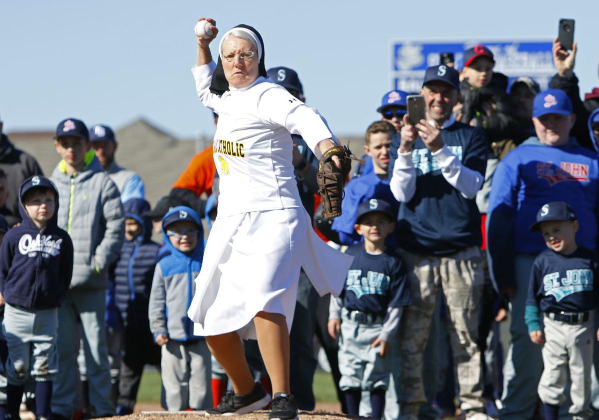 St. John Youth Baseball opening day