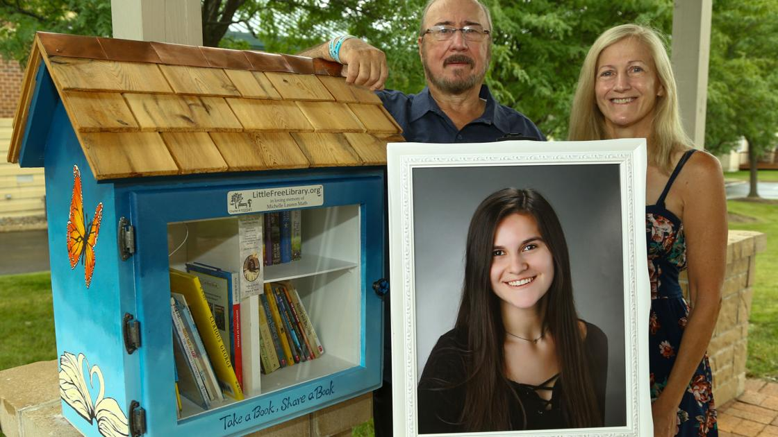 Little Free Library erected in memory of Winfield 18-year-old