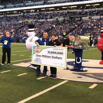 Portage man wins $1 million Hoosier Lottery prize