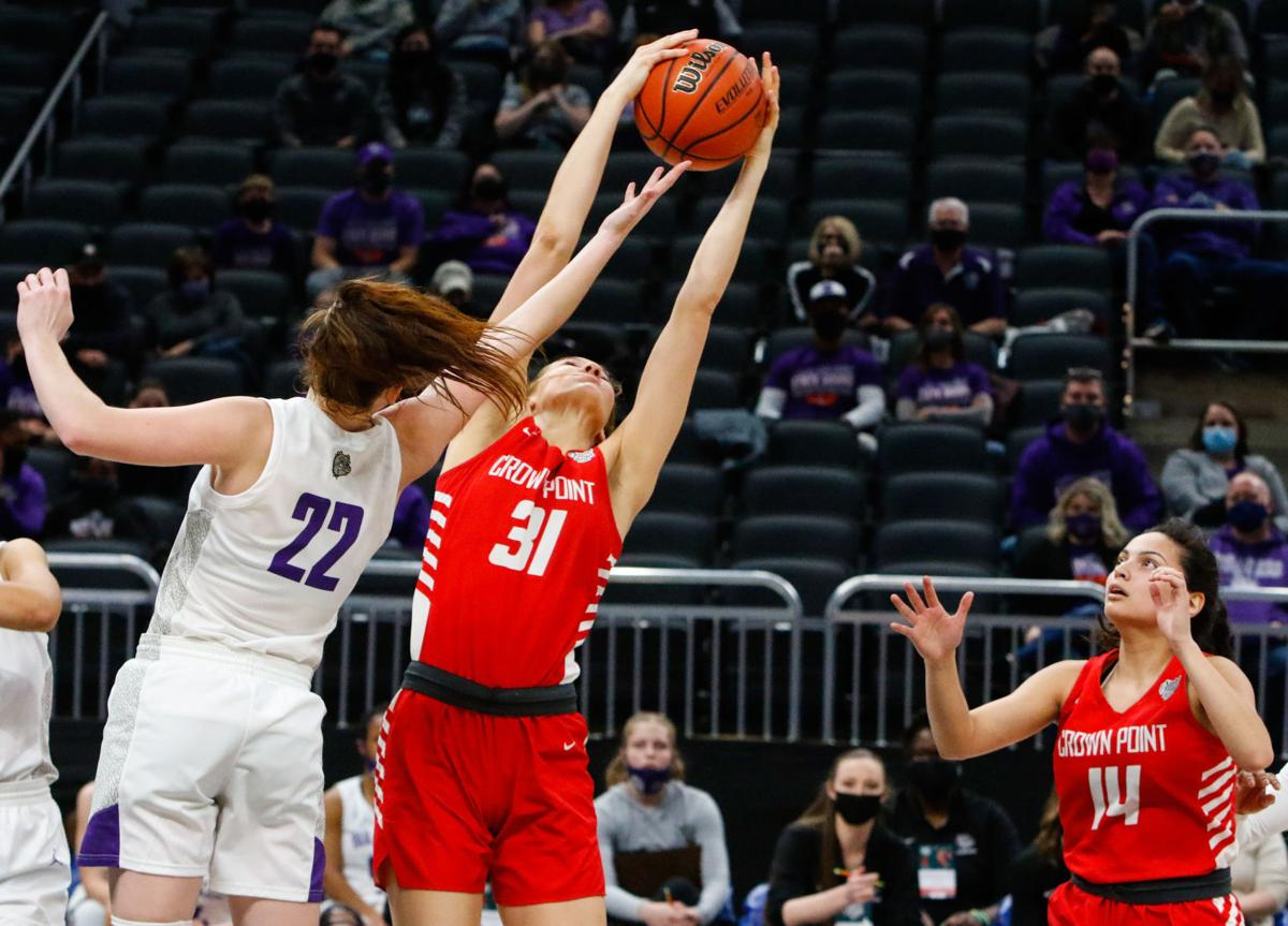 4A girls basketball state final - Crown Point vs. Brownsburg (all-state)
