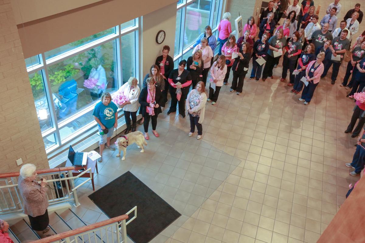 Porter Regional Hospital works to 'blow away' breast cancer