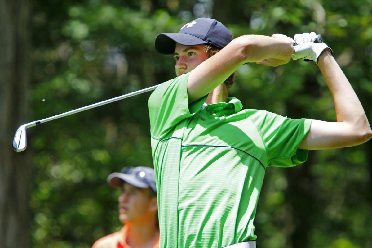 Boys golf regional