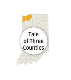 Tale of Three Counties logo