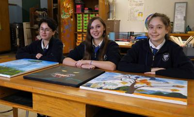Bishop Noll students take artwork to next level