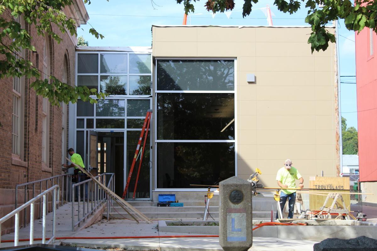 Valpo City Hall renovations almost a wrap