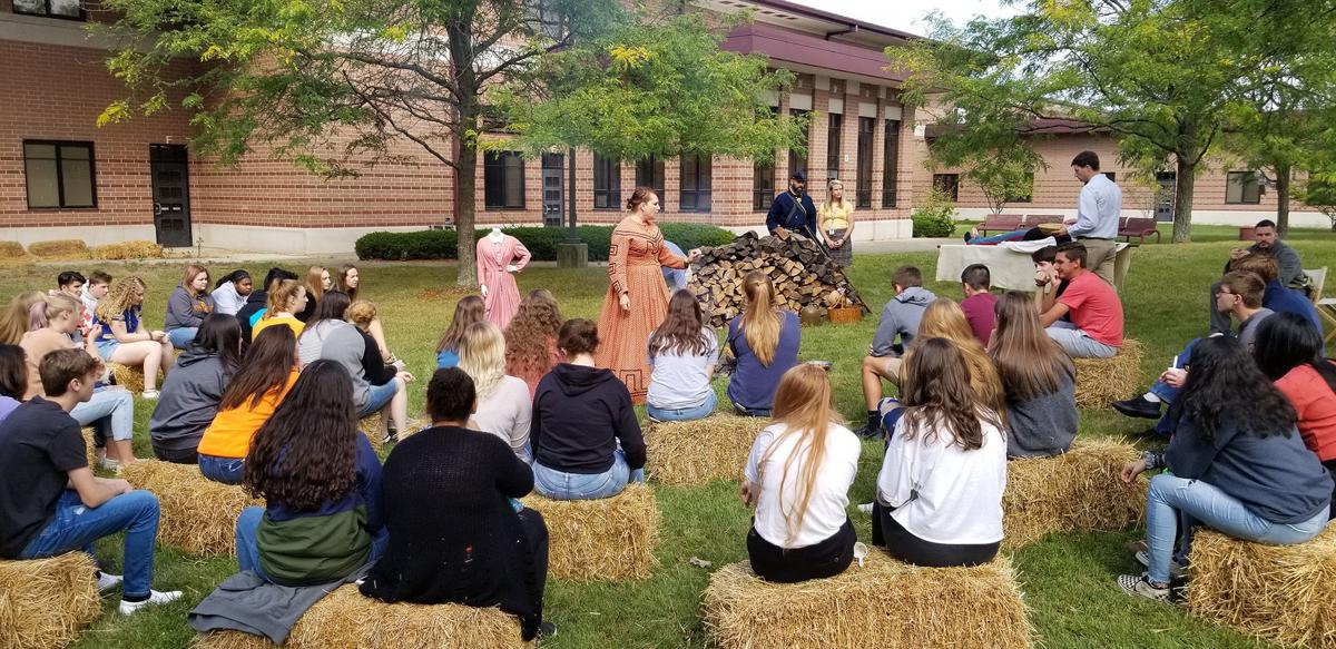 Civil War lessons hit home with living history presentation
