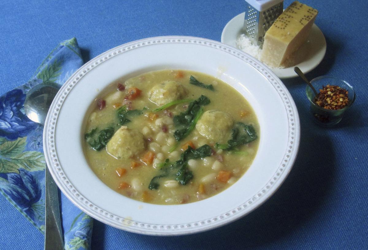 Food Column KitchenWise White Bean Soup
