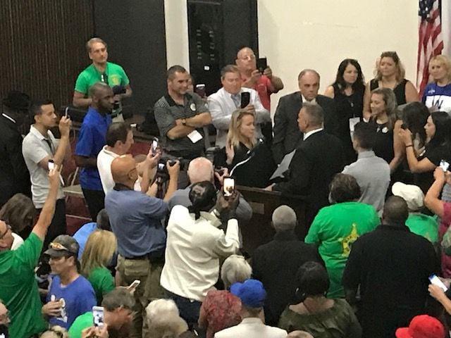 Oscar Martinez Jr. sworn in as Lake County Sheriff