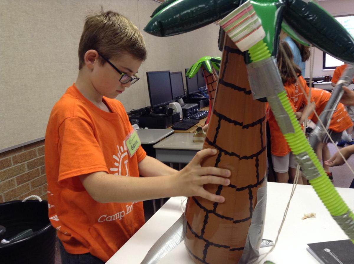 Camp Invention inspires students to think out of the box