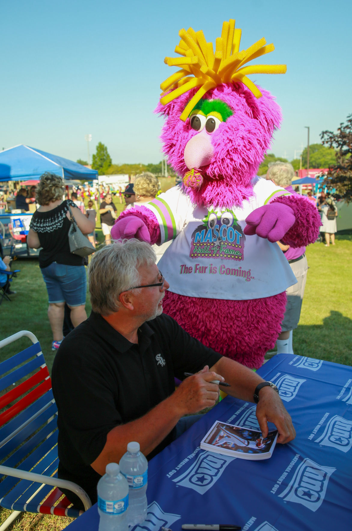 Ron Kittle at the Munster Night Out Against Crime