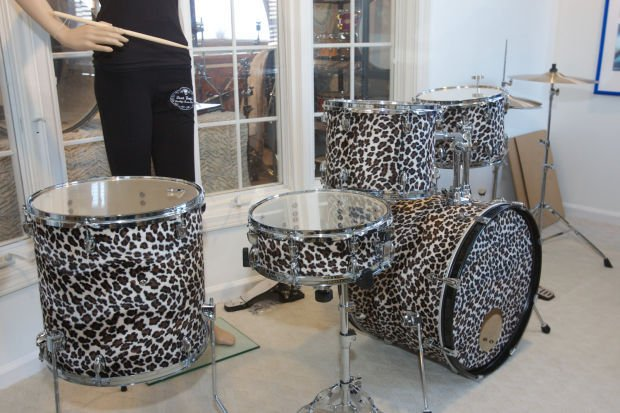 Custom Drum Builder Steve Crabtree rocks on