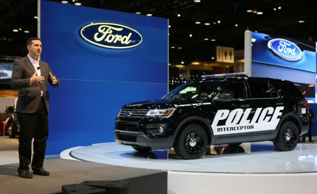 Ford recalls 213,000 police vehicles to fix door springs