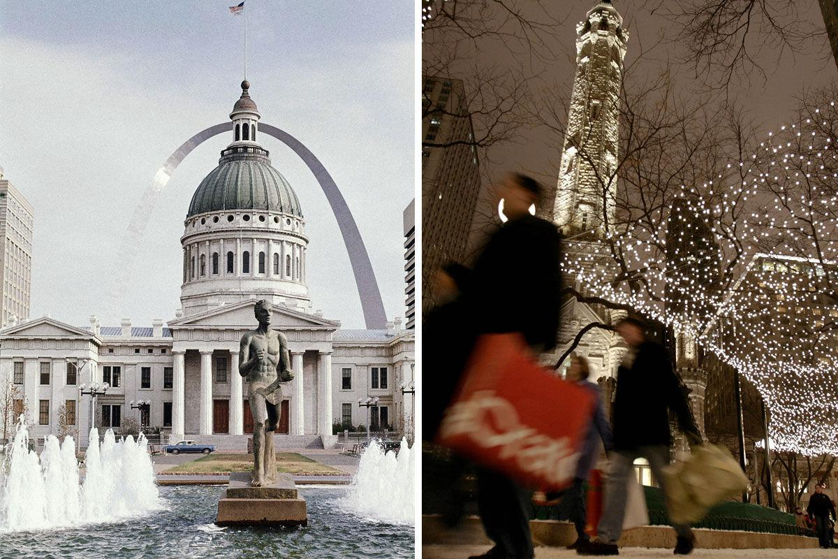 Old Courthouse vs. Chicago Water Tower