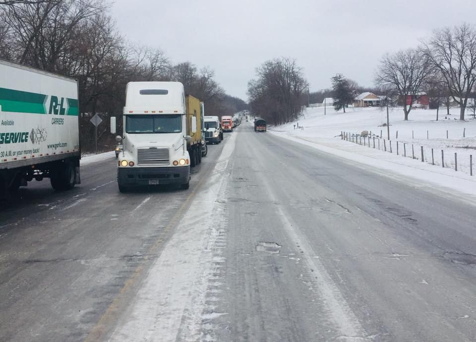 UPDATE: LaPorte County warns drivers to avoid U.S. 20 because of icy conditions