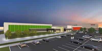 Rendition of Hammond Sportsplex