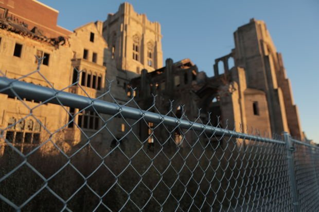 Gary City Methodist Church could become country's largest ruins garden