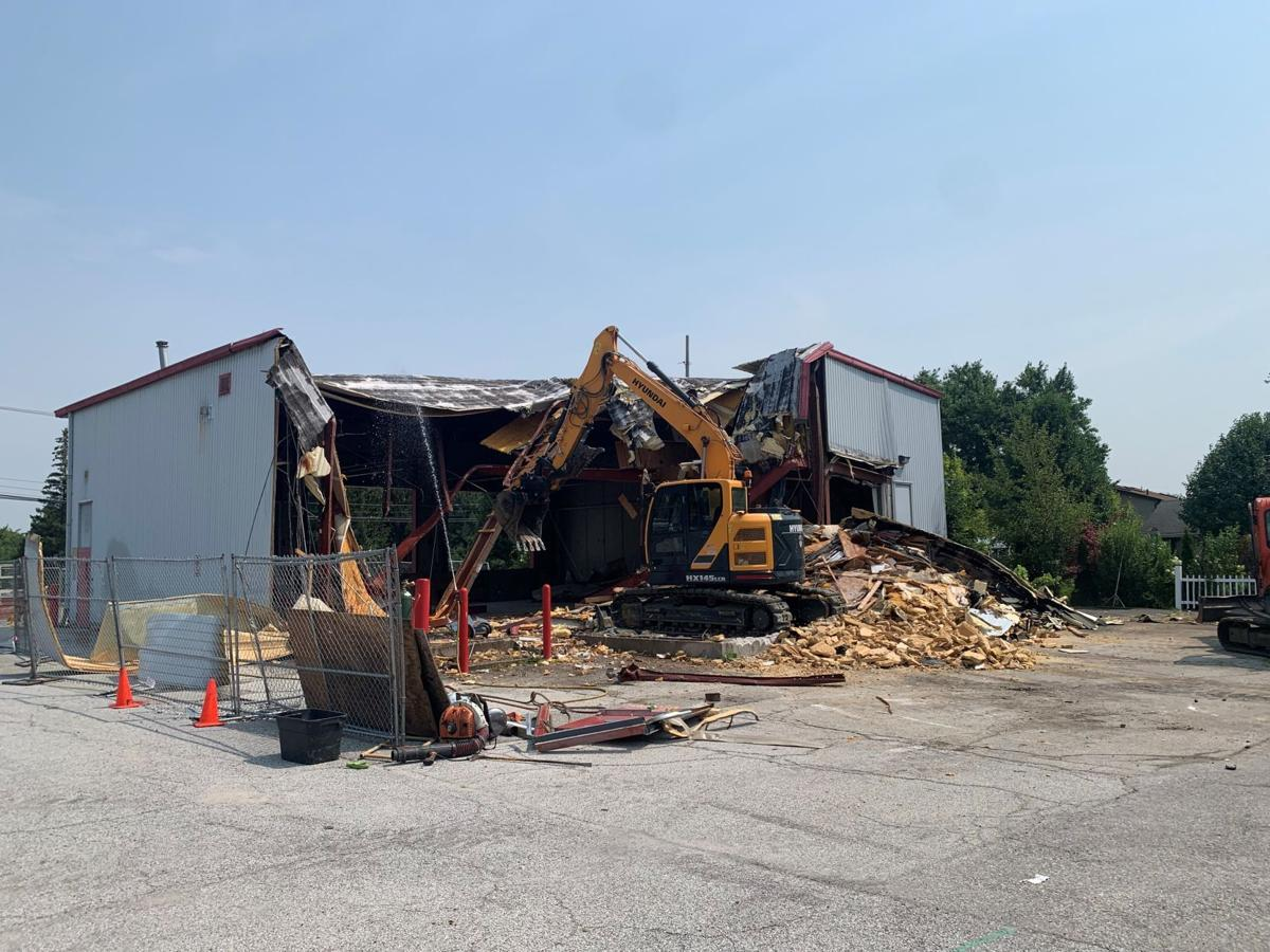 WATCH NOW: Old Dyer fire station demolished, future of parcel to be determined, official says