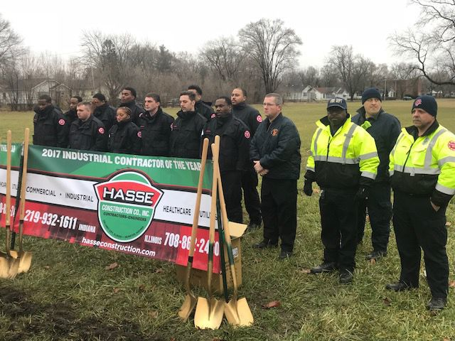 Gary breaks ground on new fire station