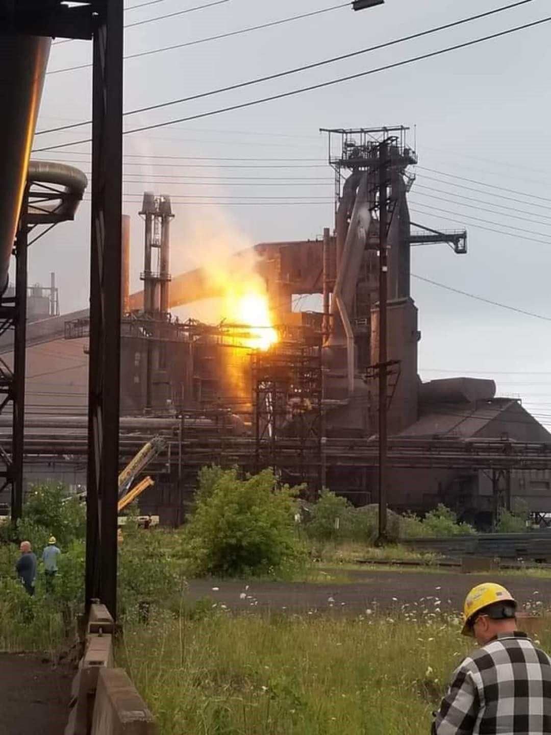 ArcelorMittal fire