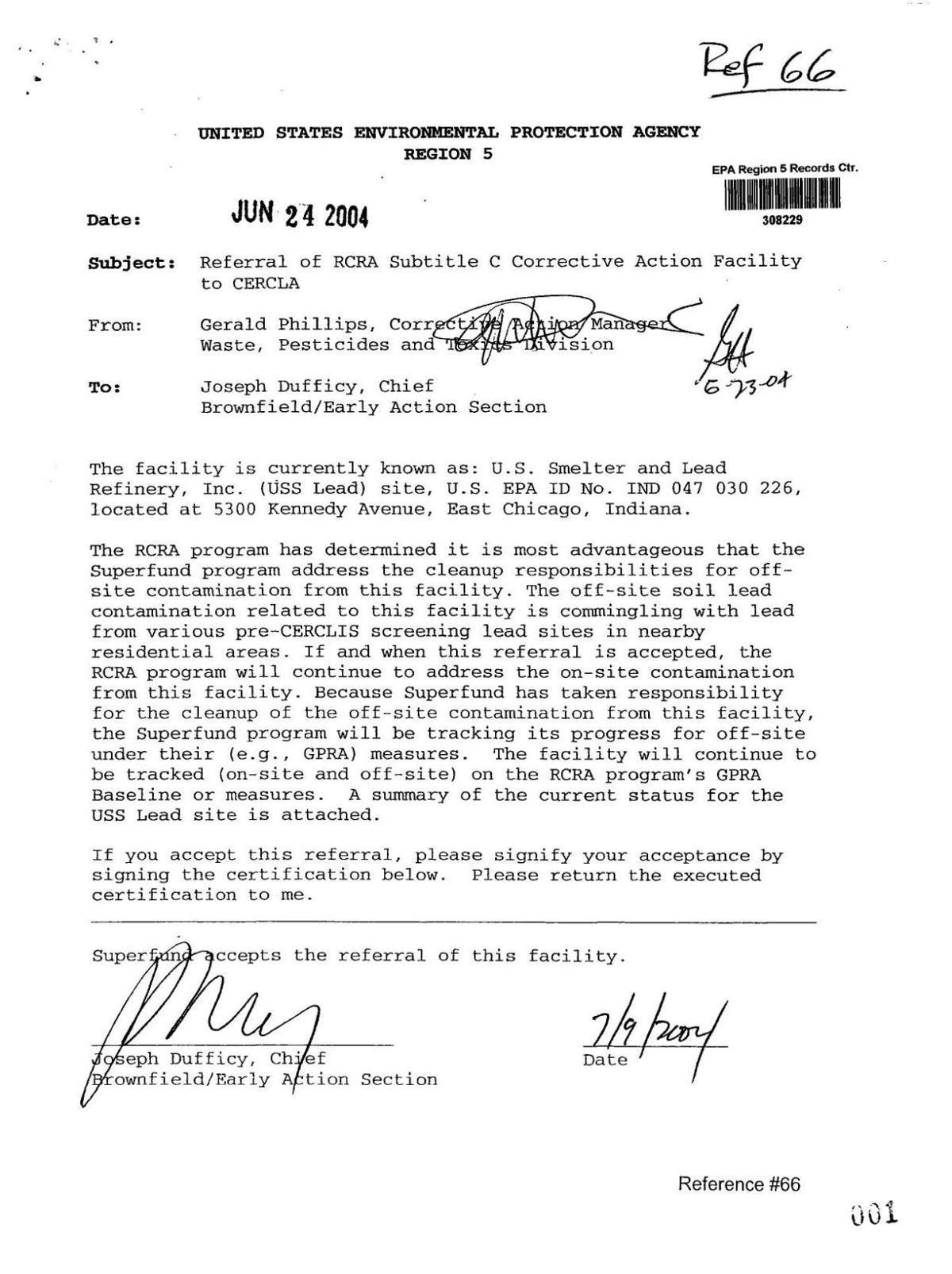2004 EPA memo