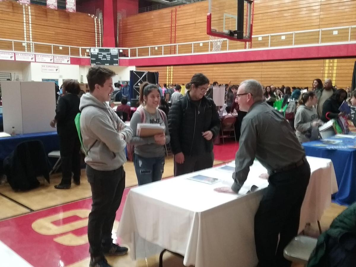 University Career Fair (Feb 2019), Loyola Career Fair ...