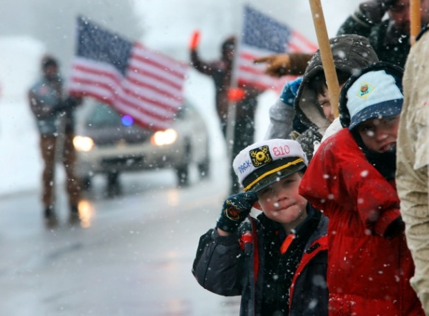 Westville Marine hailed as hero