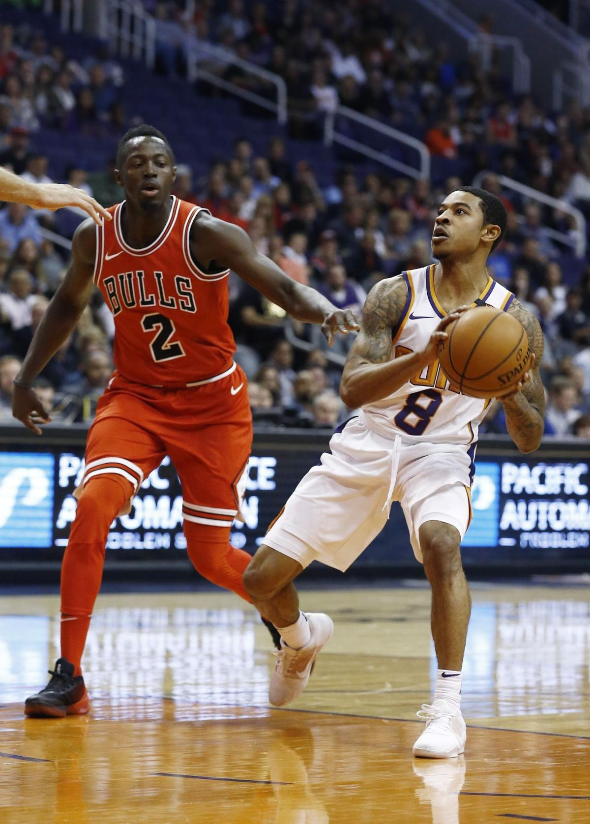 Bulls Suns Basketball