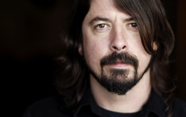 Dave Grohl fighting for rock at the Grammys